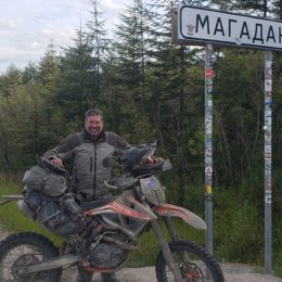 AROUND THE WORLD ON A KTM 500 EXC