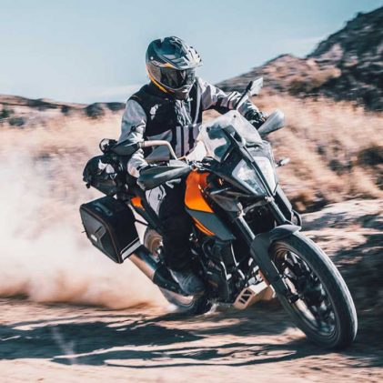 THE ALL-NEW KTM 390 ADVENTURE IN ACTION