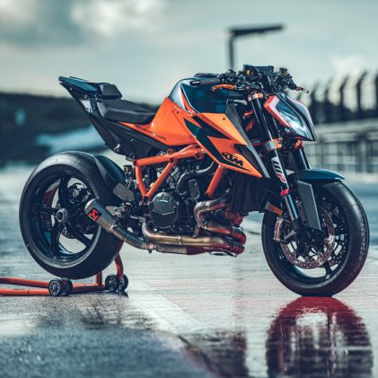 THE NATURIST: KEEPING NAKED WITH THE KTM 1290 SUPER DUKE R