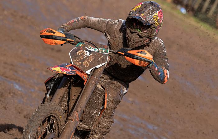 Scott Enduro Maglia motocross Schwarz//Orange