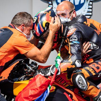 BRAD BINDER'S BIG DAY: KTM'S FIRST MOTOGP™️ VICTORY