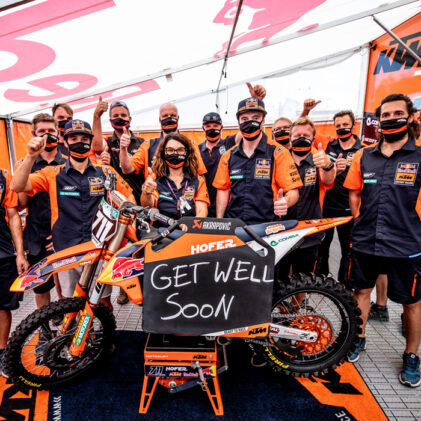 THE HURT GAME: RECOVERING IN MXGP