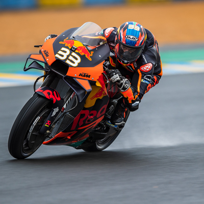 DON'T STOP! BRAD BINDER TALKS THE MOTOGP™ LEARNING CURVE