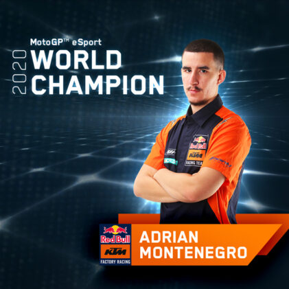 READY TO (E)RACE: Talking with KTM's MotoGP™ eSport World Champion