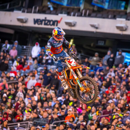 14 THINGS YOU MIGHT NOT HAVE KNOWN ABOUT KTM AND SUPERCROSS