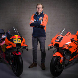 ONE STEP BEYOND: MEETING THE MAN WHO HELPED ACCELERATE THE KTM RC16 TO THE FRONT OF THE MOTOGP GRID