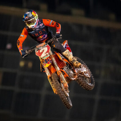 FLYING: SIX QUESTIONS WITH COOPER WEBB ABOUT ANOTHER SUPERLATIVE SUPERCROSS SEASON