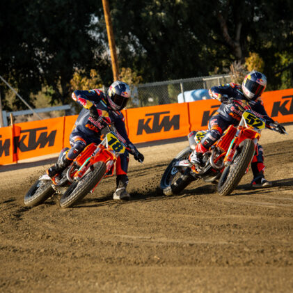 ROUND AND ROUND: HOW AND WHY KTM GO AMERICAN FLAT TRACK RACING